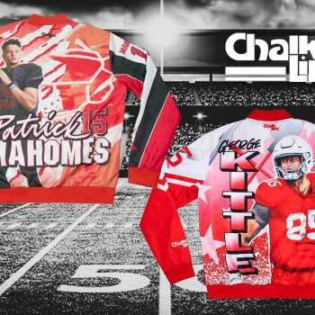 Chiefs and 49ers from legendary streetwear brand Chalk Line now available on thedrop.com.