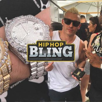 We showcase new icy bling bling watches from Hip Hop Bling now featured on TheDrop.com.