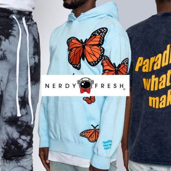 We introduce new hoodies and shirts from streetwear brand Nerdy Fresh