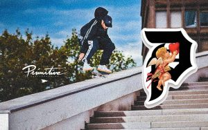 New Valentine's Day inspired street and skatewear from skateboard and apparel brand Primitive