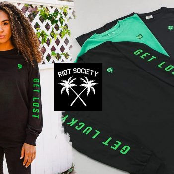 We showcase new St. Patrick's Day shirts from Streetwear brand Riot Society that are now available on thedrop.com.